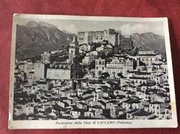 Italia. Palermo. Particolare Della Citta Di Caccamo 1961 - Palermo