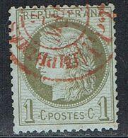 FRANCE : N° 50 Oblitéré (Cérès) - PRIX FIXE : 1/3 De La Cote - - 1871-1875 Ceres