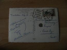 Daguin Moustiers Sa Faience Son Musee Le Verdon  Flamme Sur Lettre - Poststempel (Briefe)
