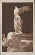 Victoire De Samothrace, Musée Du Louvre, Paris, C.1920s - Alfred Noyer Photo CPA - Louvre