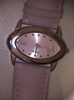 Montre Femme Girl Only Bracelet Cuir Rose, Cadran Ovale - Watches: Modern