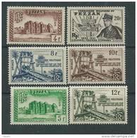 Fezzan N° 43 / 53 X  La Série Des 11  Valeurs Trace De  Charnière Sinon TB - Fezzan (1943-1951)