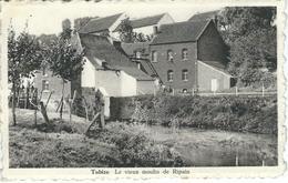 TUBIZE : Le Vieux Moulin De Ripain - Cachet De La Poste 1956 - Tubeke