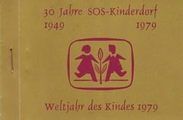 SOS Kinderdorf 30 Jahre Weltjahr Des Kindes Briefmarkenhäftchen 1979 - Österreich