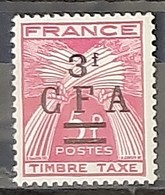 REUNION - TAXE - N° 40 - Neuf AVEC Charnière * / MM - Reunion Island (1852-1975)