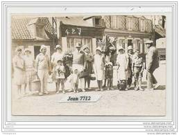 1358 CARTE PHOTO GROUPE ET BOULANGER A IDENTIFIER TTB - Cartoline