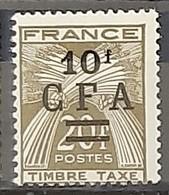 REUNION - TAXE - N° 42 - Neuf AVEC Charnière * / MM - Reunion Island (1852-1975)