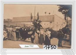 7242 AK/PC/CARTE PHOTO/1750/FETE ATTELAGE A IDENTIFIER/1913/TTB - Da Identificare