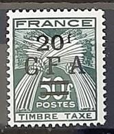 REUNION - TAXE - N° 43 - Neuf AVEC Charnière * / MM - Reunion Island (1852-1975)