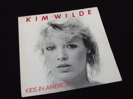 Vinyle 45 Tours Kim Wilde Kids In América (1981) - Vinyl Records