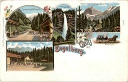 Engelberg - Litho - OW Obwald