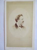 Photographie Ancienne CDV - Second Empire - Portrait Homme - Photo Langerock , Numa Blanc, Paris  BE - Photographs