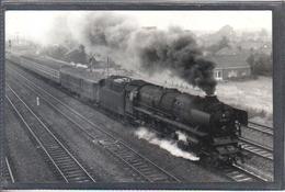 Photo Originale Allemande 1972  Leer    Railway Train Locomotive Cliché Marc Dahlström - Trains