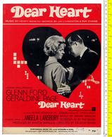 B-18597 Music Score Sheet «Dear Heart» USA 1964 4 Pg. Partitions - Musique & Instruments