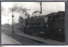 Photo Originale Allemande 1968  Wittenberge Railway Train Locomotive Cliché Marc Dahlström - Trains
