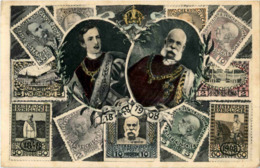Kaiser Franz Josef - Briefmarken - Timbres (représentations)