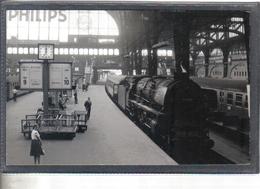 Photo Originale Allemande 1967  Hamnurg  Railway Train Locomotive Cliché Marc Dahlström - Trains