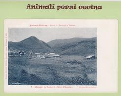 "AFRICA ORIENTALE - ERITREA - COLONIA - GHINDA E ""NIDO D'AQUILA"" - CARTOLINA - LT60-031 - Eritrea"