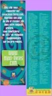 Marque-page °° Maxi-Livres - Allez Vite Vous Connecter  6x20 - Marque-Pages