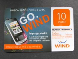 ITALIA WIND - GO WIND - 30/06/2014 USATA - Schede GSM, Prepagate & Ricariche