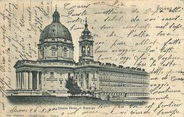 "1959 "" CHIESA REALE DI SUPERGA "" CARTOLINA POSTALE ORIGINALE  SPEDITA - Churches"