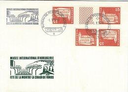 Switzerland - Cover : Musee International D`Horlogerie.  H-1407 - Switzerland