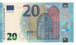 "20 EURO  ""France""  DRAGHI    U 022 A5   UD6577637274 /  FDS - UNC - EURO"