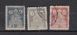 Iran    Sèrie 1892 3  Valeurs - Iran