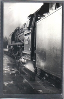 Photo Originale Allemande 1972  Berlin Railway Train Locomotive Cliché Marc Dahlström - Trains