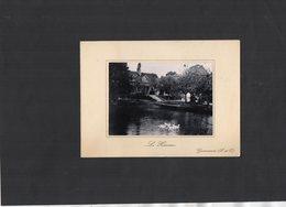 VP13.558 - Photo ¨ Le Hameau ¨ à GROSROUVE Sur Carte De Voeux Autographe De Mr J. BLISEDT ? - Autographs