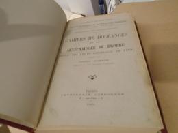 Hautes-Pyrénées  CAHIERS DOLEANCES SENECHAUSSEE DE BIGORRE ETATS GENERAUX DE 1789 (2 VOLUMES EN 1)  1925  G. BALENCIE - Midi-Pyrénées