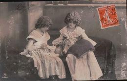 5440A COUPLE    TIMBRE   1911    ECRITE - Couples