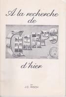 LIVRE DÉDICACÉ PAR L'AUTEUR - A LA RECHERCHE DE CHAMPS D'HIER  PAR JEAN CLAUDE RISCH - CARTES POSTALES CHAMPS SUR MARNE - Ile-de-France
