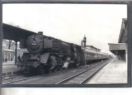 Photo Originale Allemande 1968  Trier   Railway Train Locomotive Cliché Marc Dahlström - Trains