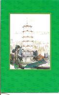 MENU Cathay Pacific - Vol   Hong Kong - Bangkok   1989 - Menu