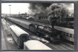Photo Originale Allemande 1972  Neuenwarkt Wirsberg  Railway Train Locomotive Cliché Marc Dahlström - Trains