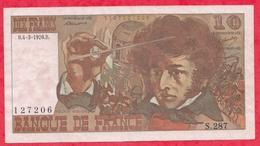 """10 Francs """"Berlioz"""" Du 04/03/1976.B -------VG/SUP--Série S.287 - 1962-1997 ''Francs''"""