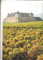 MENU Chateau Du Clos De Vougeot  1992 - Menus