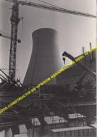 5 X GROTE FOTO CONSTRUCTIE BOUW KERNREACTOR DOEL IV 15.2.1980 INDUSTRIEEL ERFGOED CONSTRUCTION REACTEUR NUCLEAIRE DOEL 4 - Beveren-Waas