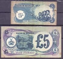 Biafra  5 Shillings  And 5 Pounds - Autres - Afrique
