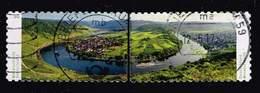 Bund 2016, Michel# 3241 - 3242 O     Deutschlands Schönste Panoramen - Moselschleife  Selbstklebend, Self-adhesive - Gebraucht