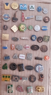 Croatia Bosnia Yugoslavia Slovenia 50 Different Pins  LOT 15 - Badges
