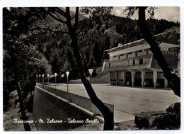 B9387 BENEVENTO - OSTELLO TABURNO CON AUTO FIATI E FURGONCINO VOLSKWAGEN B\N VG 1960 - Benevento