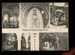 B9420 ABBAZIA DEL GOLETO - REGINA DEL COSMO PREGA PER NOI - MULTIVEDUTE B\N - Italia