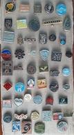 Croatia Bosnia Yugoslavia Slovenia 50 Different Pins  LOT 17 - Badges