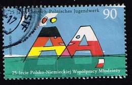 Bund 2016, Michel# 3249 O 25 Jahre Deutsch - Polnisches Jugendwerk - Gebraucht