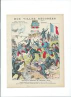 BELFORT Défense Héroïque Armée Française  Protège-cahier Couverture 220 X 175  Bon état 3 Scans - Protège-cahiers