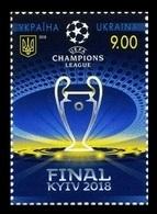 Ukraine 2018 Mih. 1687 Football. UEFA Champions League Final In Kiev MNH ** - Ucrania