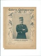 Général De Boisdeffre Alençon Galerie Contemporaine Armée Française Protège-cahier Couverture 220x175  Bon état 3 Scans - Protège-cahiers