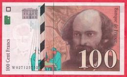 "100 Francs ""Cézanne"" 1997---XF/SUP+---n °W.027125752 - 1992-2000 Dernière Gamme"